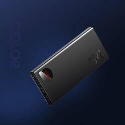 Baseus Adaman Metal Digital Display Quick Charge Power Bank 10000mAh 22.5W(2021 Editon)Black