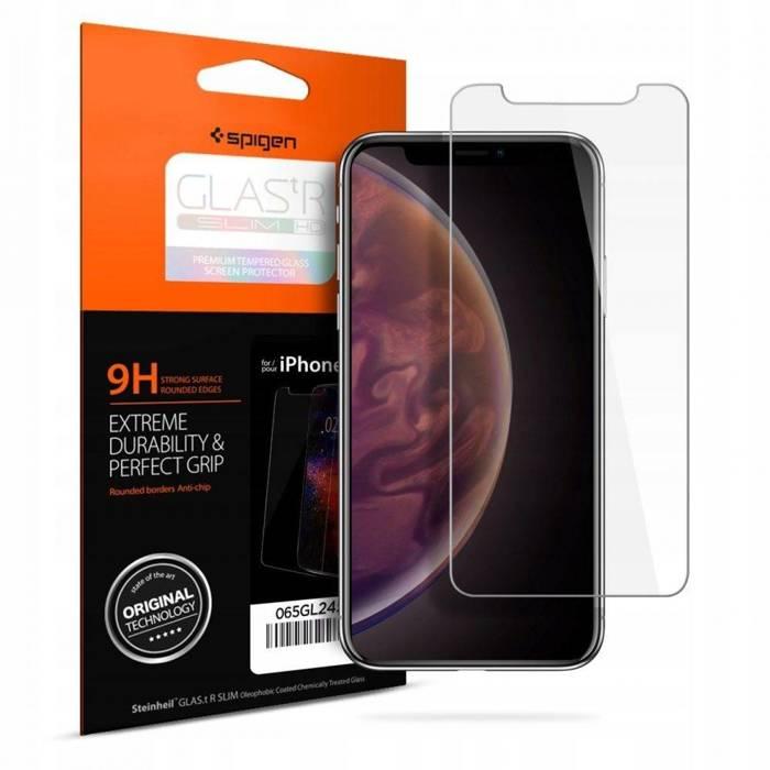 Tempered glass SPIGEN GLAS.TR Slim HD Apple iPhone X XS 11 Pro