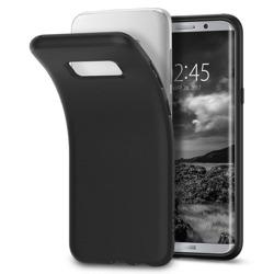 Etui SPIGEN Flüssigkristall Samsung Galaxy S8 G950 Mattschwarzes Gehäuse