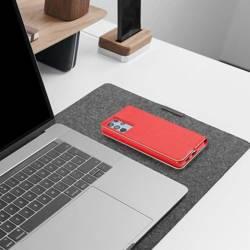 Forcell LUNA Book Gold Holster für SAMSUNG Galaxy A13 rot