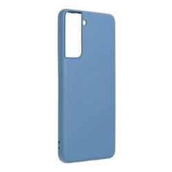 Forcell SILICONE LITE Tasche für SAMSUNG Galaxy S22 Ultra blau