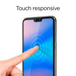 Gehärtetes Glas SPIGEN Glas.tR Slim HD Huawei P20 Lite Nova 3e Vollständige Abdeckung