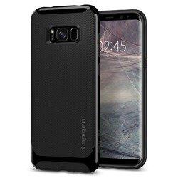 Gehäuse SPIGEN NEO Hybrid Samsung Galaxy S8 Glänzend schwarz Gehäuse Abdeckung