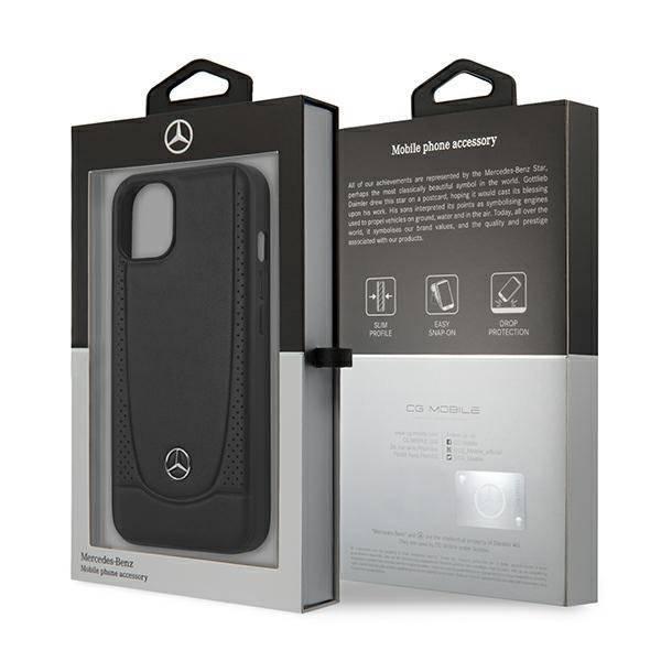 """Mercedes MEHCP13SARMBK iPhone 13 mini 5.4"""" Hartschalenkoffer schwarz/schwarz Urban Line"""