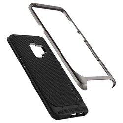 SPIGEN Neo Hybrid Samsung Galaxy S9 Rotguss + Glas SPIGEN Hülle