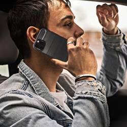 ETUI Futerał Forcell CARBON do IPHONE 13 PRO czarny CASE