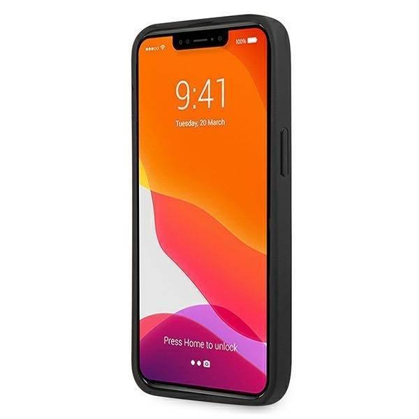 Etui GUESS Apple iPhone 13 Pro Max Saffiano Strap Czarny Case