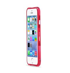 Etui LJY Hardcore iPhone 6 6S Aluminium Bumper Ramka Czerwony