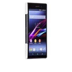 Etui Pokrowiec Sony Xperia Z1 CASE-MATE Barely Biały