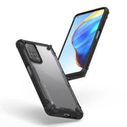 Etui RINGKE Fusion X Xiaomi Mi 10T Lite Black Czarne Case