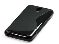 Etui S-Line do HTC Desire 610 Czarny Etui Silikon