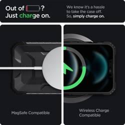 Etui SPIGEN Apple iPhone 13 Nitro Force Matte Czarny Case