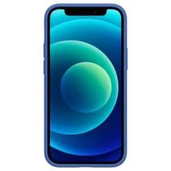 Etui SPIGEN Cyrill Silicone iPhone 12 Mini Linen Blue Niebieskie Case