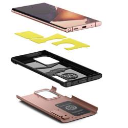 Etui SPIGEN Galaxy Note 20 Ultra Tough Armor Bronze Case