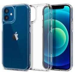 Etui SPIGEN Quartz Hybrid iPhone 12 Mini Clear Przeźroczyste Case