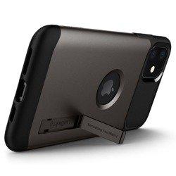 Etui SPIGEN Slim Armor Apple  Iphone 11 Gunmetal Szare Case