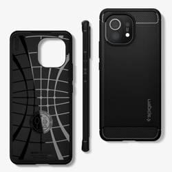 Etui SPIGEN Xiaomi Mi 11 Rugged Armor Matte Black Czarne Case