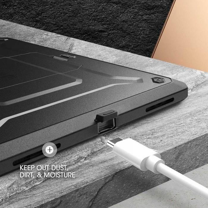 Etui SUPCASE Unicorn Beetle Pro iPad Air 4 2020 Black Czarne Case