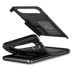 Etui Spigen Galaxy S10 Tough Armor Czarne Case Samsung