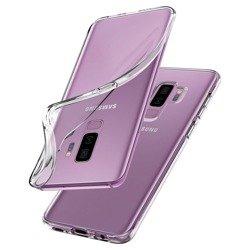 Etui Spigen Liquid Crystal Galaxy S9+ Plus Clear Samsung Case Pokrowiec