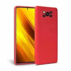 Etui TECH-PROTECT Icon Xiaomi Poco X3 Nfc Red Czerwone Case