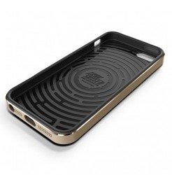 Etui iPhone 5 5S VERUS Iron Shield Gold Jak Spigen SGP Pokrowiec
