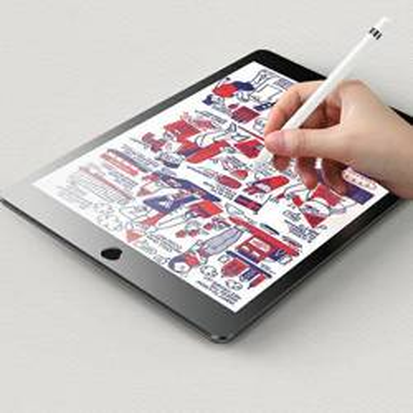 Folia USAMS Apple iPad Air 10,9 PaperLike Protector