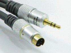 Kabel PROLINK 3RCA - SVHS4P + 3,5 STR 3m TCV5510