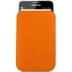 Pokrowiec SAMSUNG Galaxy Note N7000 Pouch Cover Pomarańczowy Orange  EFC-1E1LOECSTD