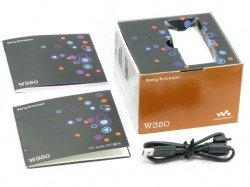 Pudełko SONY ERICSSON W350i Pudełko SE CD Kabel Sterowniki Instrukcja Pomarańczowe
