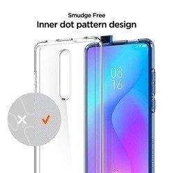 SPIGEN Ultra Hybrid Xiaomi Mi 9t Mi 9t Pro Crystal Clear Przeźroczyste Case + Szkło 3MK Flexible Glass