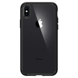 Spigen iPhone X XS Etui Ultra Hybrid 360 Matte Black Czarne Case Apple