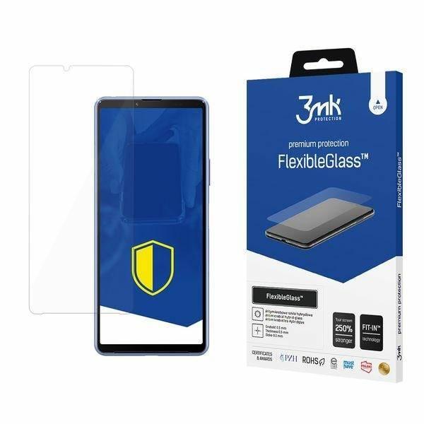 Szkło Hybrydowe 3MK Sony Xperia 10 III 5G  FlexibleGlass