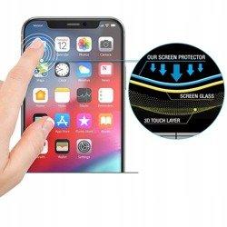 Szkło Hybrydowe HOFI Glass Flex Hybrid Pro+ Iphone X/XS Black Czarne