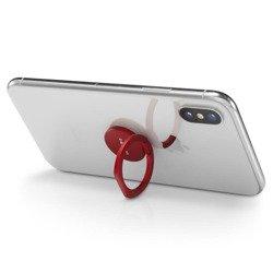 Uchwyt SPIGEN Style Pop Phone Ring Red Czerwony