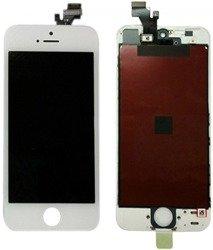 WYŚWIETLACZ Apple iPhone 5 Dotyk Komplet BIAŁY