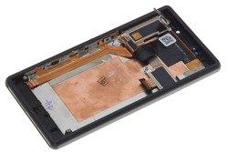 WYŚWIETLACZ SONY Xperia M2 Aqua Z Wadą Czarny LCD Oryginalny Dotyk