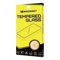 Wozinsky super wytrzymałe szkło hartowane Full Glue na cały ekran z ramką Case Friendly Huawei P40 Pro czarny